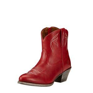 NWOT Red Ariat Darlin Western Bootie 7.5